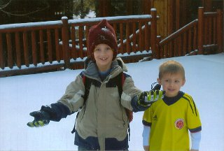 Tahoe Nanny child care and babysitting-Children in the snow